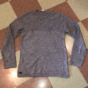 Lacoste grey knit sweater chunky 5 md